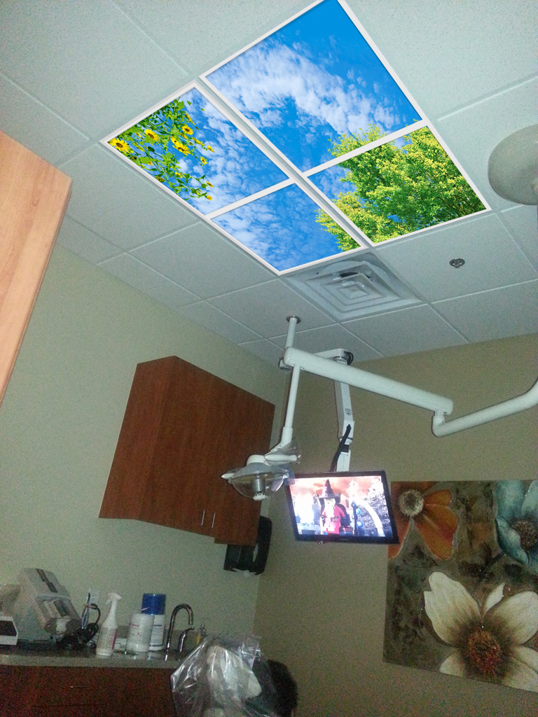 Get world-class dental office lighting with Openview Sky